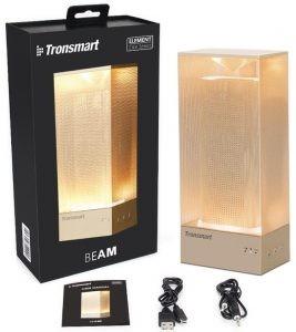 Tronsmart Element BEAM hordozható Bluetooth hangszóró és hangulatfény