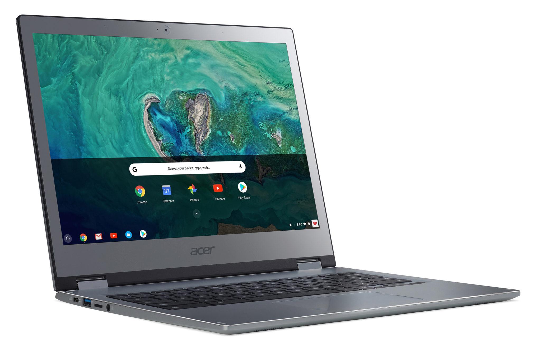 Az Acer bemutat két, 13 colos Chromebookot, melyek üzleti felhasználásra készültek