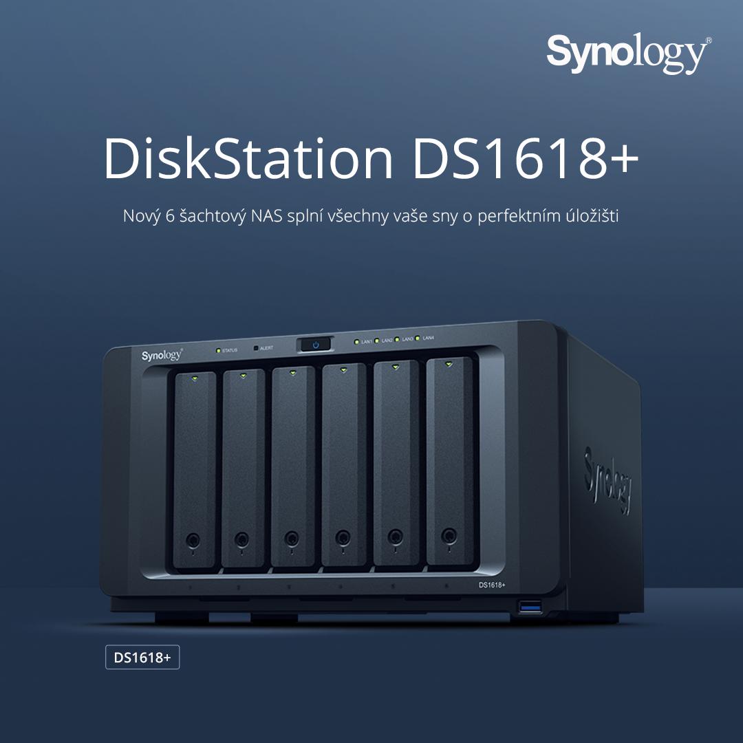 A Synology® bemutatja a DiskStation DS1618+ eszközt