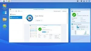 Synology DiskStation DS218 Hyper Backup, C2 Cloud bemutató