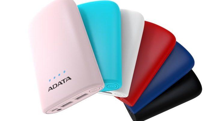 Az ADATA bemutatja az új powerbankjeit