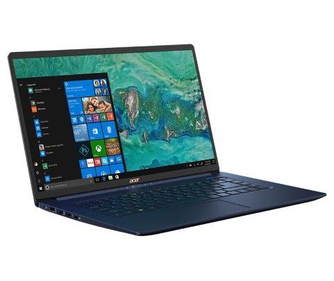 Az Acer ma bejelentette a Swift 5 (SF515-51T) notebookot, a világ legkisebb súlyú 15 col kijelzős notebookját.