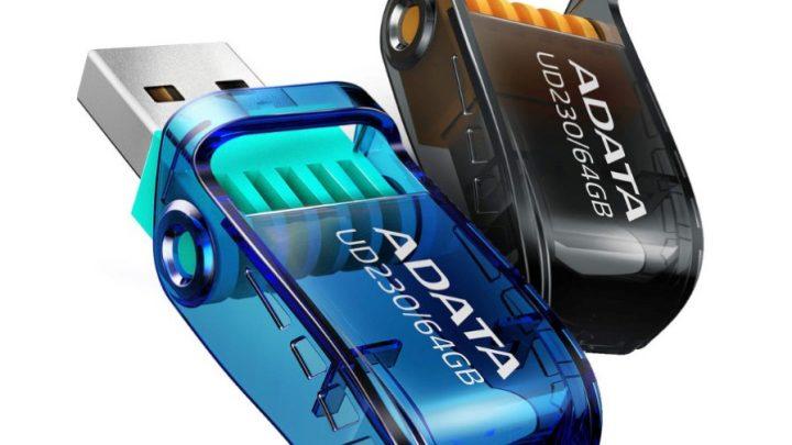 Új ADATA UD230 és UD330 USB flash meghajtók