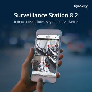 A Synology® bemutatja a Surveillance Station 8.2 verzióját, amely új értelmet ad a telefonos felügyeletnek