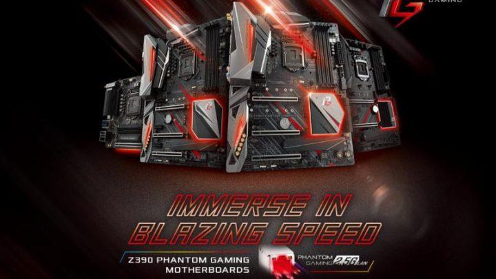 Az ASRock bemutatja a legújabb Intel® Z390 Phantom Gaming alaplapokat