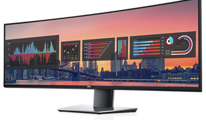 A Dell bemutatta a világ első 49 colos, dupla QHD monitorát