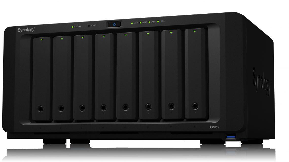 A Synology® bemutatja a DiskStation DS1819+ és a RackStation RS1619xs+ termékeit
