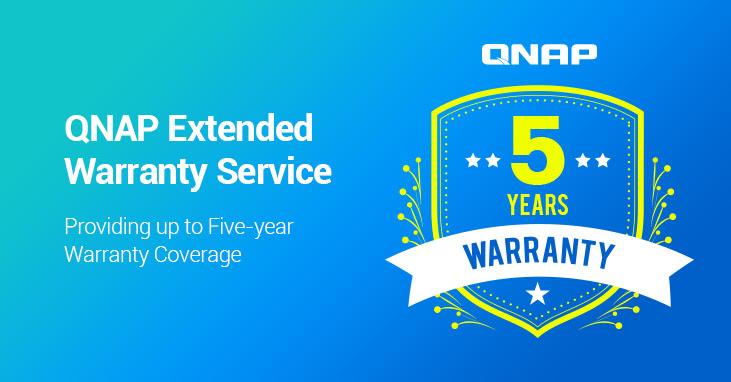 A QNAP elindítja a kiterjesztett jótállási szolgáltatást, amely a felhasználók számára legfeljebb ötéves garanciális lefedettséget biztosít