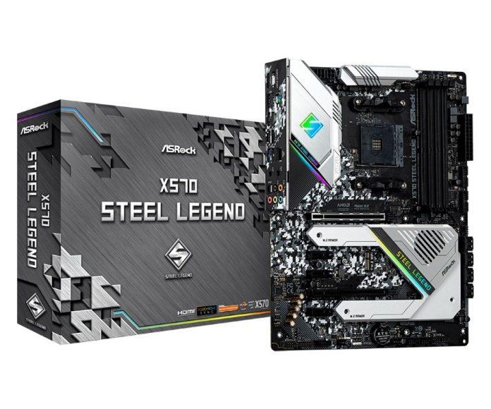 Asrock X570 Steel Legend alaplap bemutató